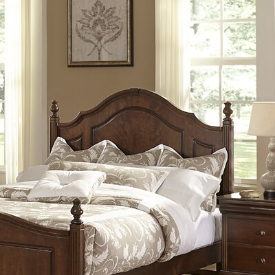 French Market Poster Headboard by Virginia House