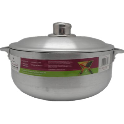 Heavy Guage Aluminum Round Dutch Oven by Wee's Beyond