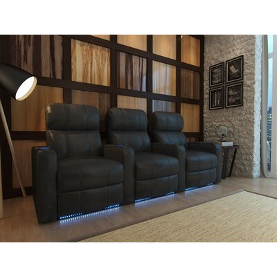 Turbo XL700 Home Theater Recliner (Row of 3) by OctaneSeating