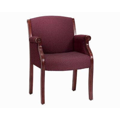 Flexsteel Contract Governor's Engraved Executive Guest Chair