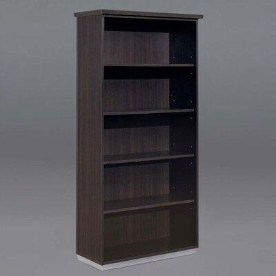 "Flexsteel Contract Pimlico-Mocha 72"" Open Standard Bookcase"