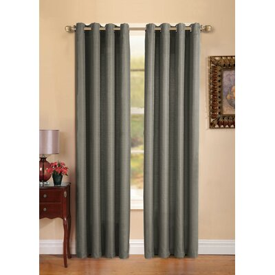 VCNY Manchester Grommet Single Curtain Panel