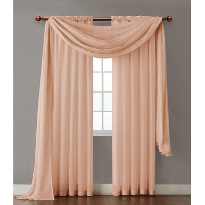 Infinity Sheer Single Curtain Panel Product Photo