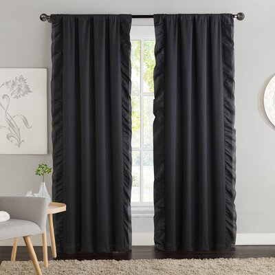 Amber Blackout Curtain Panel (Set of 2) Product Photo