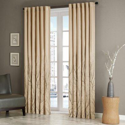 Madison Park Andora Single Curtain Panel