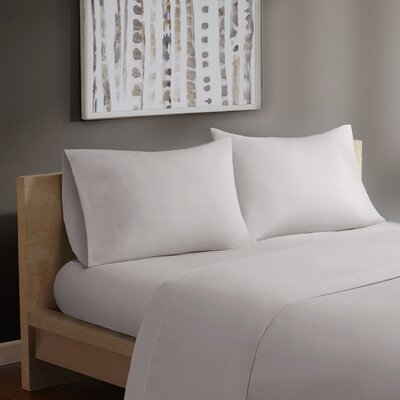 Forever Percale 200 Thread Count Cotton Sheet Set by Madison Park