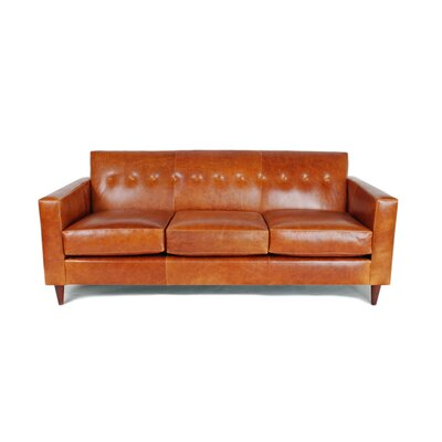 Jackson Leather Sofa by Liberty Manufacturing Co.