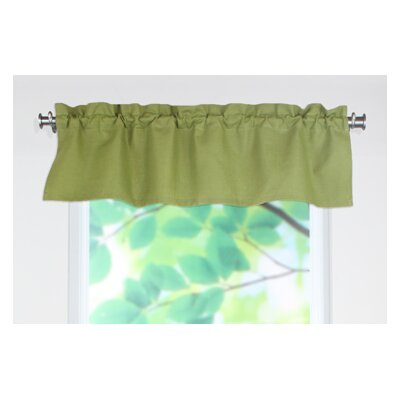 "Circa Solid Rod Pocket Tailored 54"" Curtain Valance Product Photo"