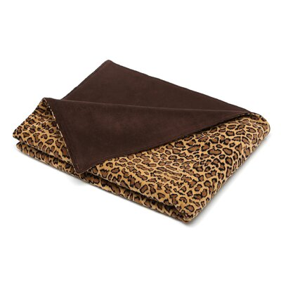 Brite Ideas Living Bobcat Topstitched Throw