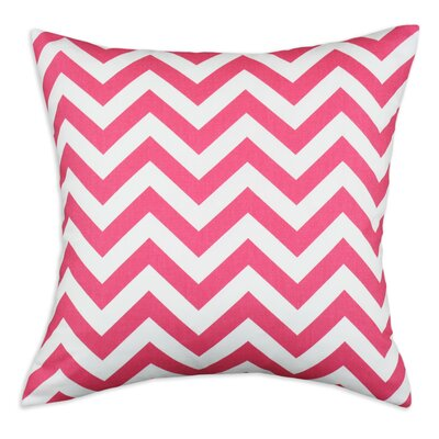 Zig Zag Cotton Throw Pillow by Brite Ideas Living