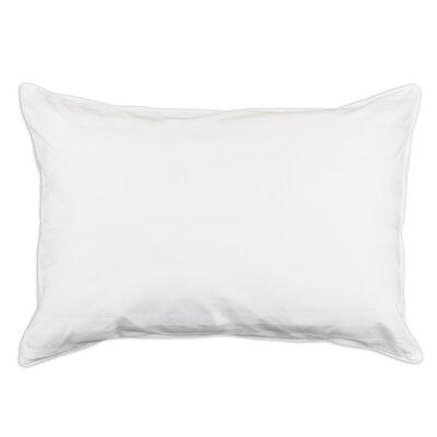 Premium Down Alternative Memory Fiber Stripe Bed Pillow by Brite Ideas Living