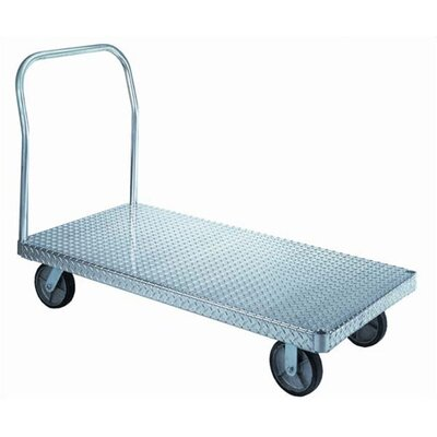 "Wesco Manufacturing 36"" x 72"" Treadplate Platform Dolly"