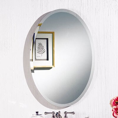 "Cameo 24"" x 36"" Recessed Beveled Edge Medicine Cabinet Product Photo"