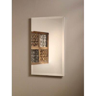 "Perfect Square 16"" x 26"" Recessed Beveled Edge Medicine Cabinet Product Photo"