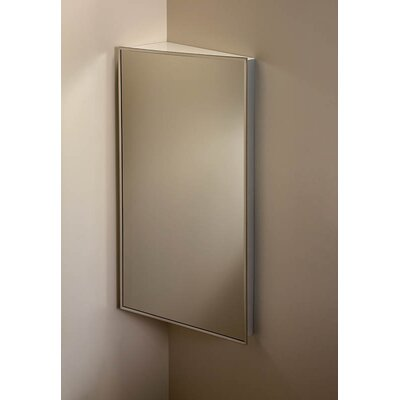 "Specialty 16"" x 36"" Corner Mount Medicine Cabinet Product Photo"