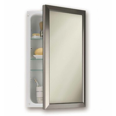 "15.75"" x 25.5"" Recessed Medicine Cabinet Product Photo"