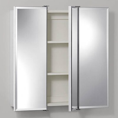 "Ashland 30"" x 24"" Surface Mount Beveled Edge Medicine Cabinet Product Photo"