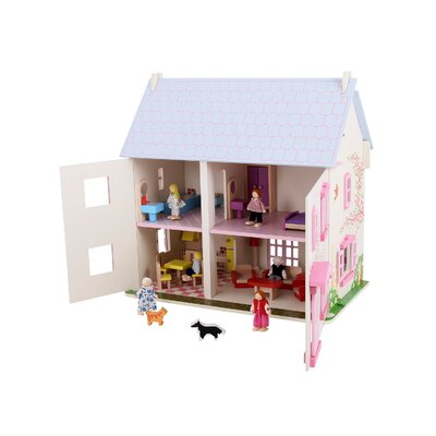 Rose Cottage Play Set by BigJigs Toys