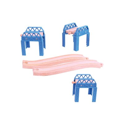 Construction Support Play Set by BigJigs Toys