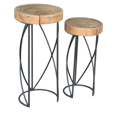Hardy Live Edge 2 Piece Nesting Tables by endygo