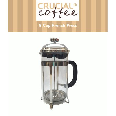 8 Cup French Press Coffee/Espresso Maker by Crucial