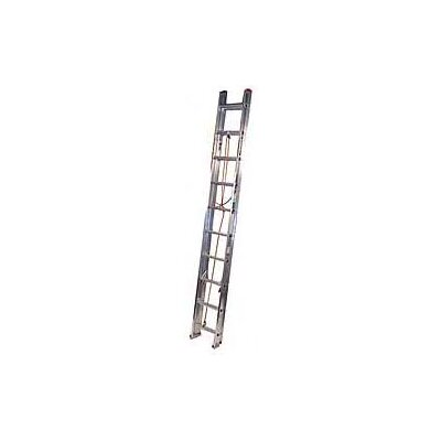 Werner 20 ft Aluminum Extension Ladder with 200 lb. Load Capacity