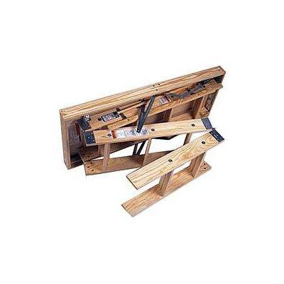 Werner 10 ft Wood Attic Ladder