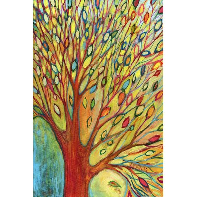 'Tree Colors' Painting Print on Wrapped Canvas by HDC International