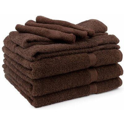 Soft Touch 9 Piece Bath Towel Set by Cambridge Towel Company