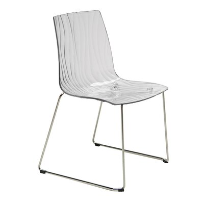 Upon Calima Slide Armless Stacking Chair by Grandsoleil