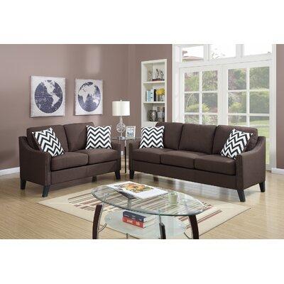 Infini Furnishings IFIN1067 Sofa and Loveseat Set
