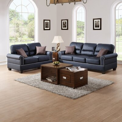 Infini Furnishings IFIN1069 Sofa and Loveseat Set