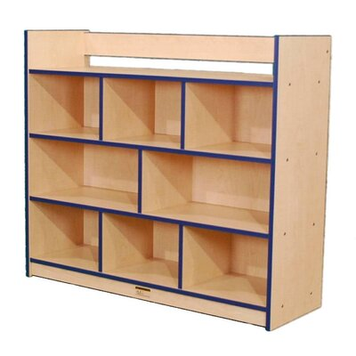 Mahar Creative Colors Youth Single-Sided Storage Unit with Book Rack