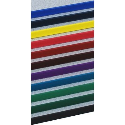 "Mahar Creative Colors Single-Sided 60"" Bookcase"