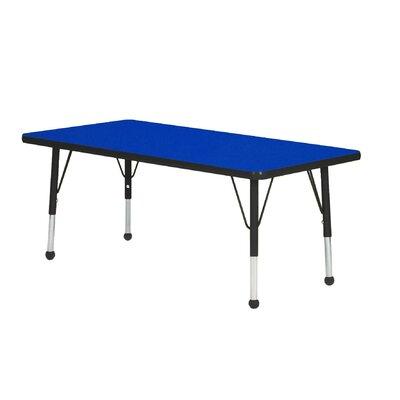 "Mahar Creative Colors 36"" x 18"" Rectangular Classroom Table"