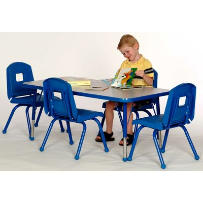 Mahar Creative Colors Rectangle Classroom Table