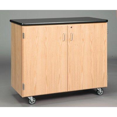 Diversified Woodcrafts Standard Mobile Storage Cabinet