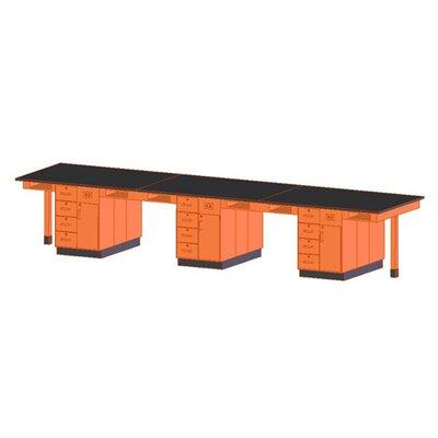 Diversified Woodcrafts Twelve Station Service Center Workstation