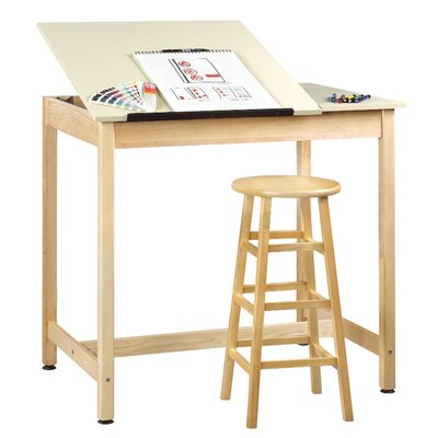 Diversified Woodcrafts Drawing Table