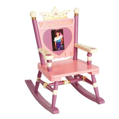 Rock A Buddies, Jr. Princess Mini Kid's Rocking Chair by Levels of Discovery