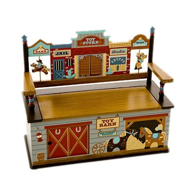 Wild West Kid's Storage Bench by Levels of Discovery