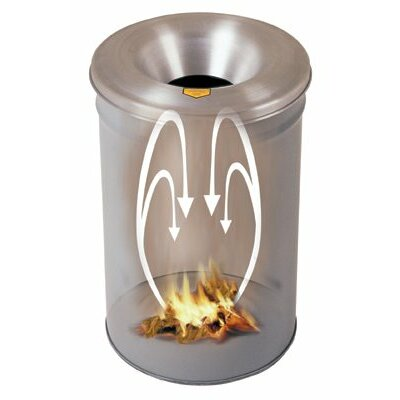 Justrite 55-Gal Cease-Fire® Waste Receptacles