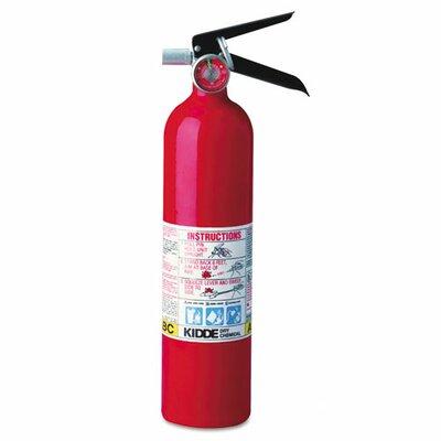 Kidde Proline Pro 2.5 Multi-Purpose Dry Chemical Fire Extinguisher
