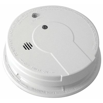Kidde - Interconnectable Smoke Alarms Smoke Alarm Ionization Battery Backup: 408-21006378 - smoke alarm ionization ba... Product Photo