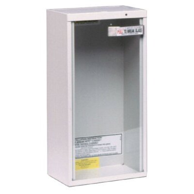 Kidde Kidde - Extinguisher Cabinets Surface Mounted Fire Extinguisher Cabinet: 408-468041 - surface mounted fire extinguisher cabinet
