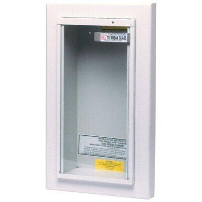 Kidde Kidde - Extinguisher Cabinets 10Lb Semi-Recessed Cabinet: 408-468045 - 10lb semi-recessed cabinet