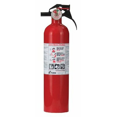 Kidde Excel Line™ Multi-Purpose Dry Chemical Fire Extinguishers - ABC Type - 2.5lb abc home fire extinguisher