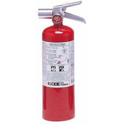 Kidde Kidde - Halotron I Fire Extinguishers 5Lb Fire Extinguisher: 408-466728 - 5lb fire extinguisher