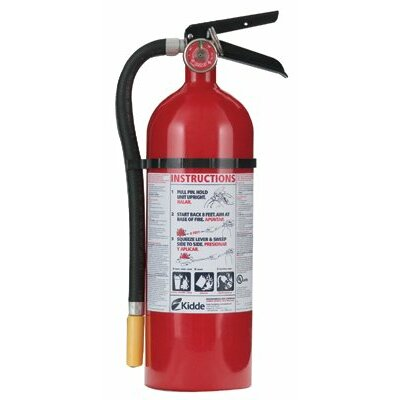 Kidde ProLine™ Multi-Purpose Dry Chemical Fire Extinguishers - ABC Type - 5lb abc fire extinguisher pro5tcm w/w