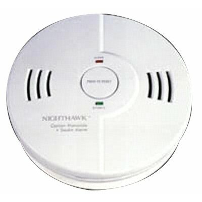 Combination Carbon Monoxide & Smoke Alarm - smoke and carbon combination detector 3aa batter Product Photo